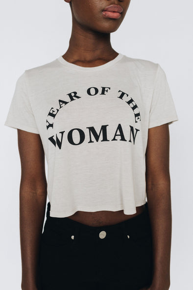 Year of the Woman Crop Tee | MY SISTER