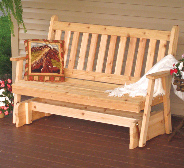 Traditional Glider Bench