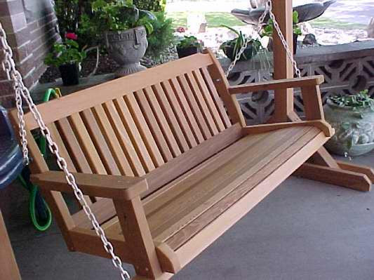 Cabbage Hill 5' Porch swing