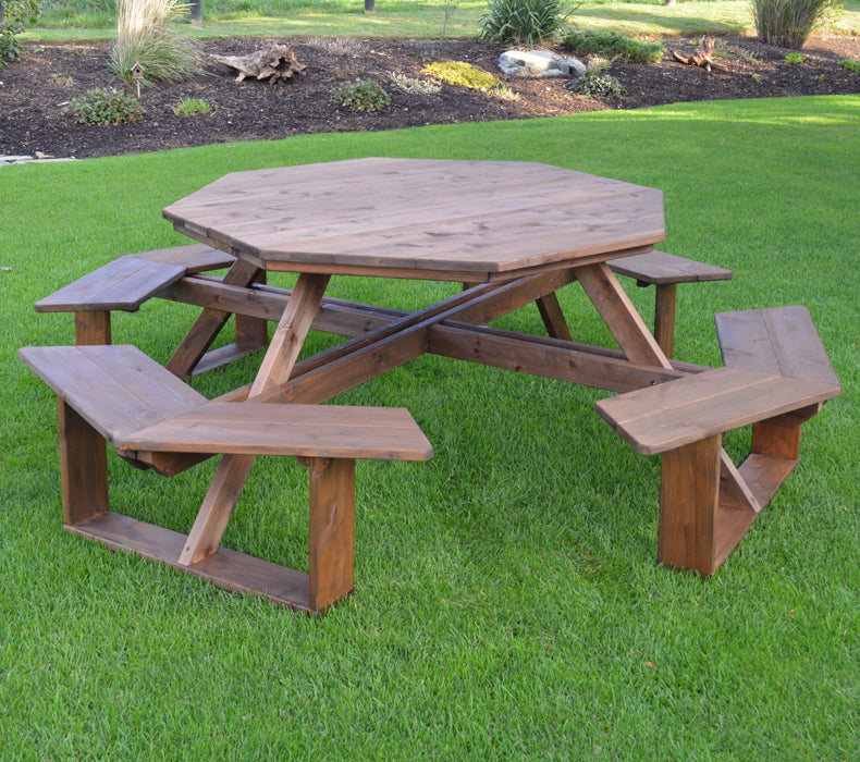 "54"" Octagon Walk-In Picnic Table"
