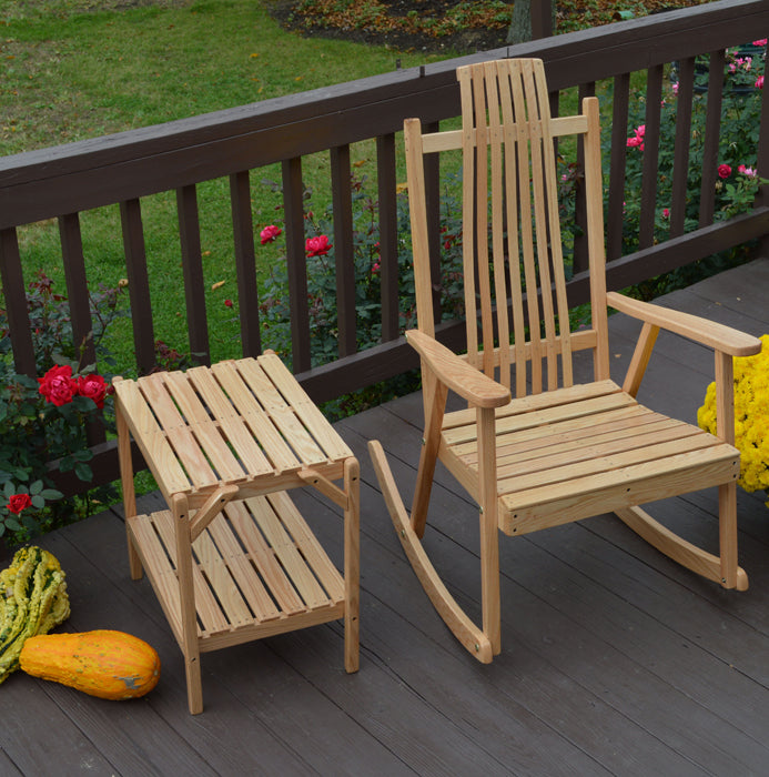 Bent Oak Rocker