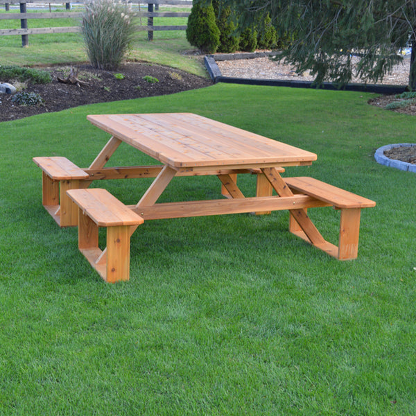 8' Walk-In  Picnic Table