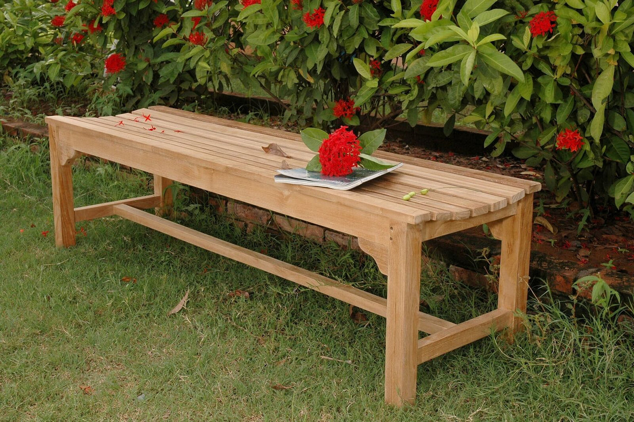 Hampton 3-Seater Backless Bench
