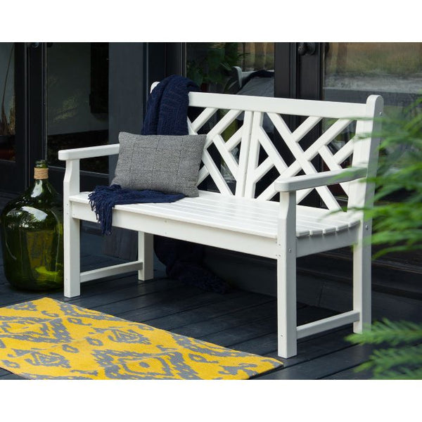 "POLYWOOD® Chippendale 48"" Bench"