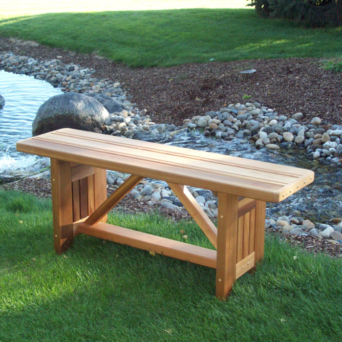 Cabbage Hill Backless Garden Bench