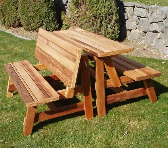 Herman Convertible Bench Table 2pcs Gardenbenches Net