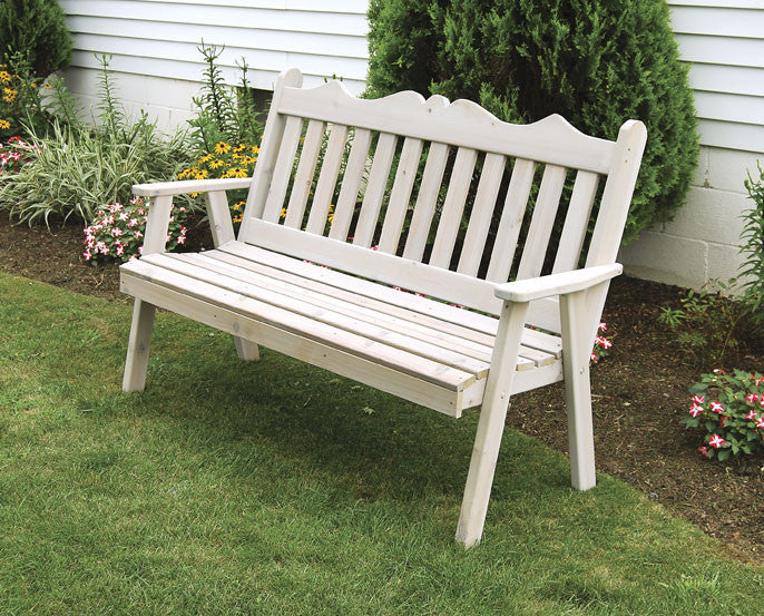Royal English Cedar Bench