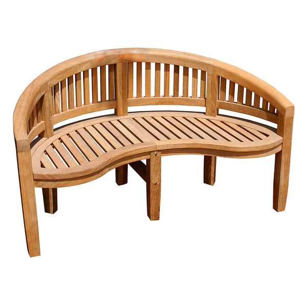 Monet Bench in Natural Finish