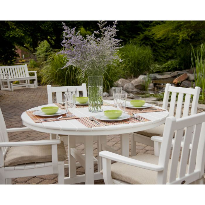 POLYWOOD® Traditional Garden 5-Piece Dining Set