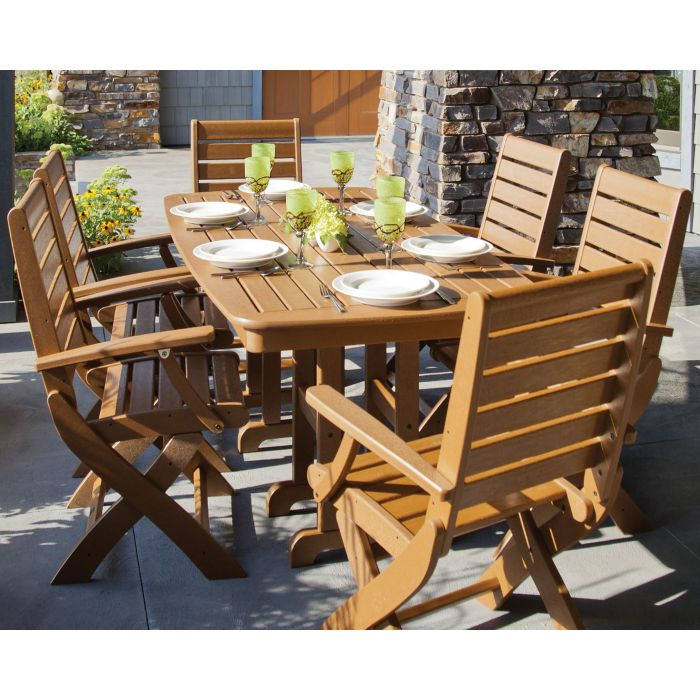 POLYWOOD® Signature 7-Piece Dining Set