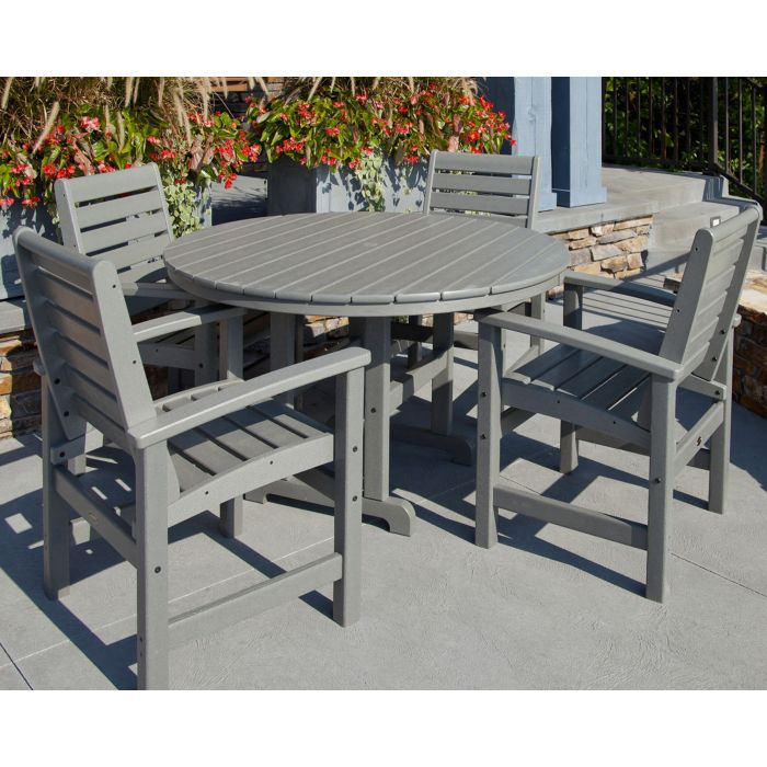 POLYWOOD® Signature 5-Piece Dining Set