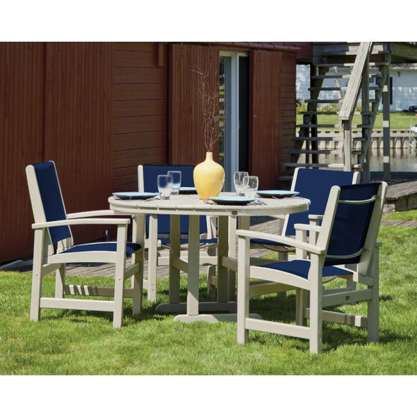 POLYWOOD® Coastal 5-Piece Dining Set