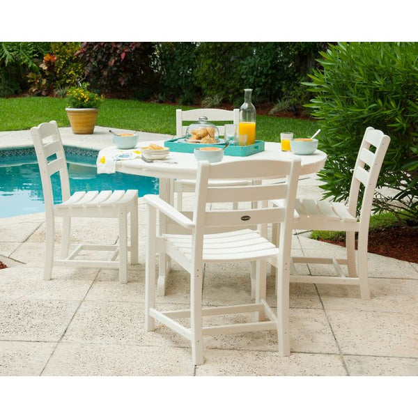 POLYWOOD® La Casa Café 5-Piece Dining Set (2 Arm & 2 Side Chairs)