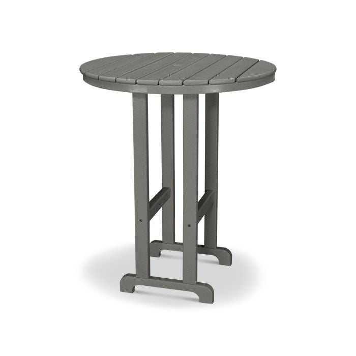 "POLYWOOD® La Casa Café Round 36"" Bar Table"