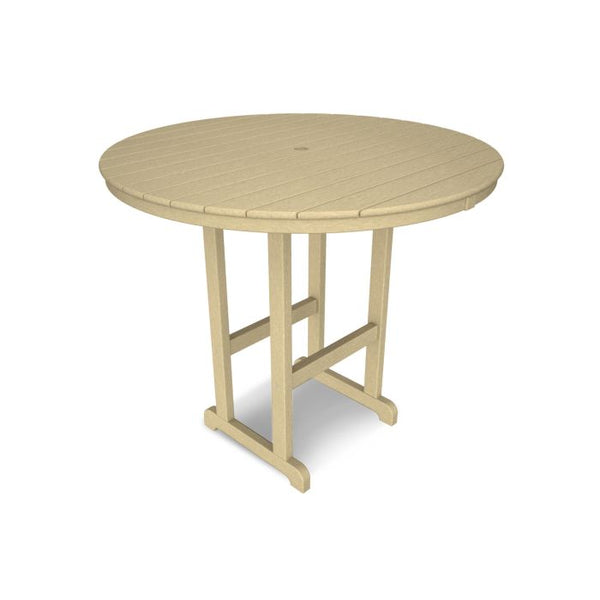 "POLYWOOD® La Casa Café Round 48"" Bar Table"