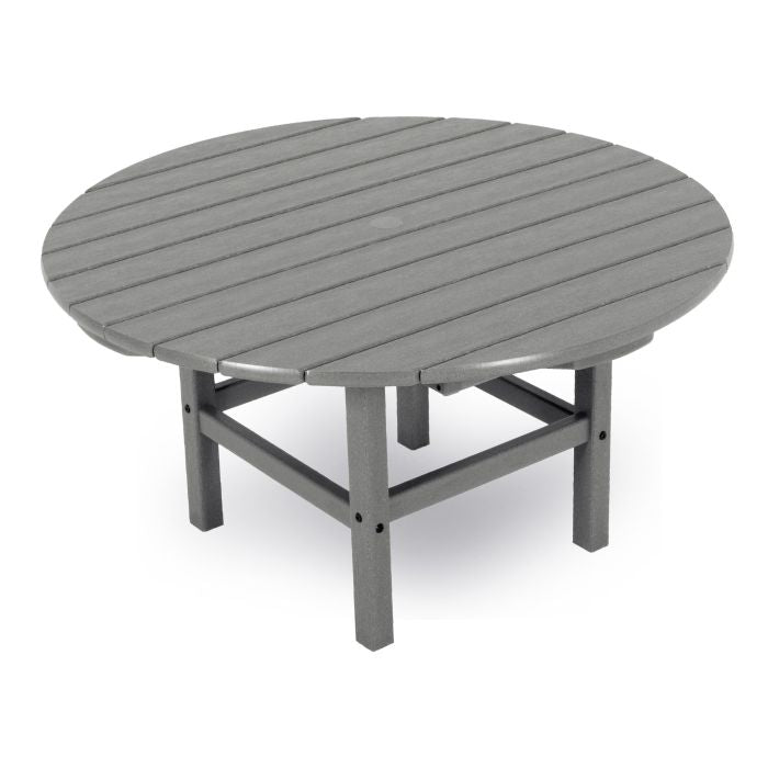 "POLYWOOD® Round 38"" Conversation Table"