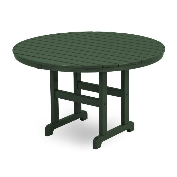 "POLYWOOD® La Casa Café Round 48"" Dining Table"