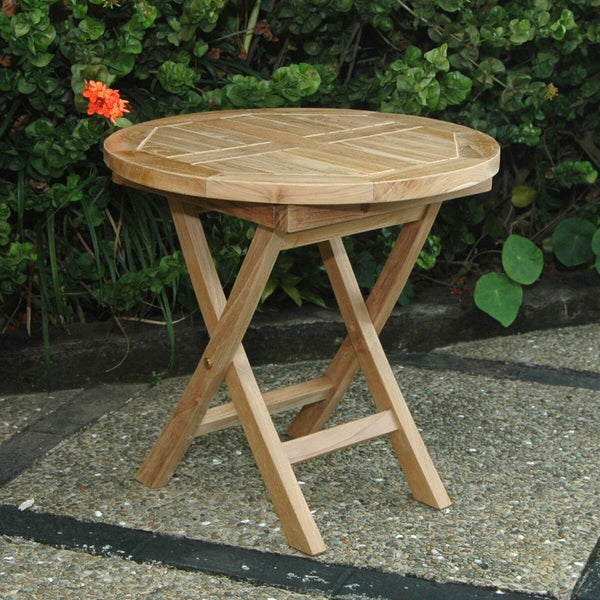 "Bahama 20"" Mini Side Round Folding Table"