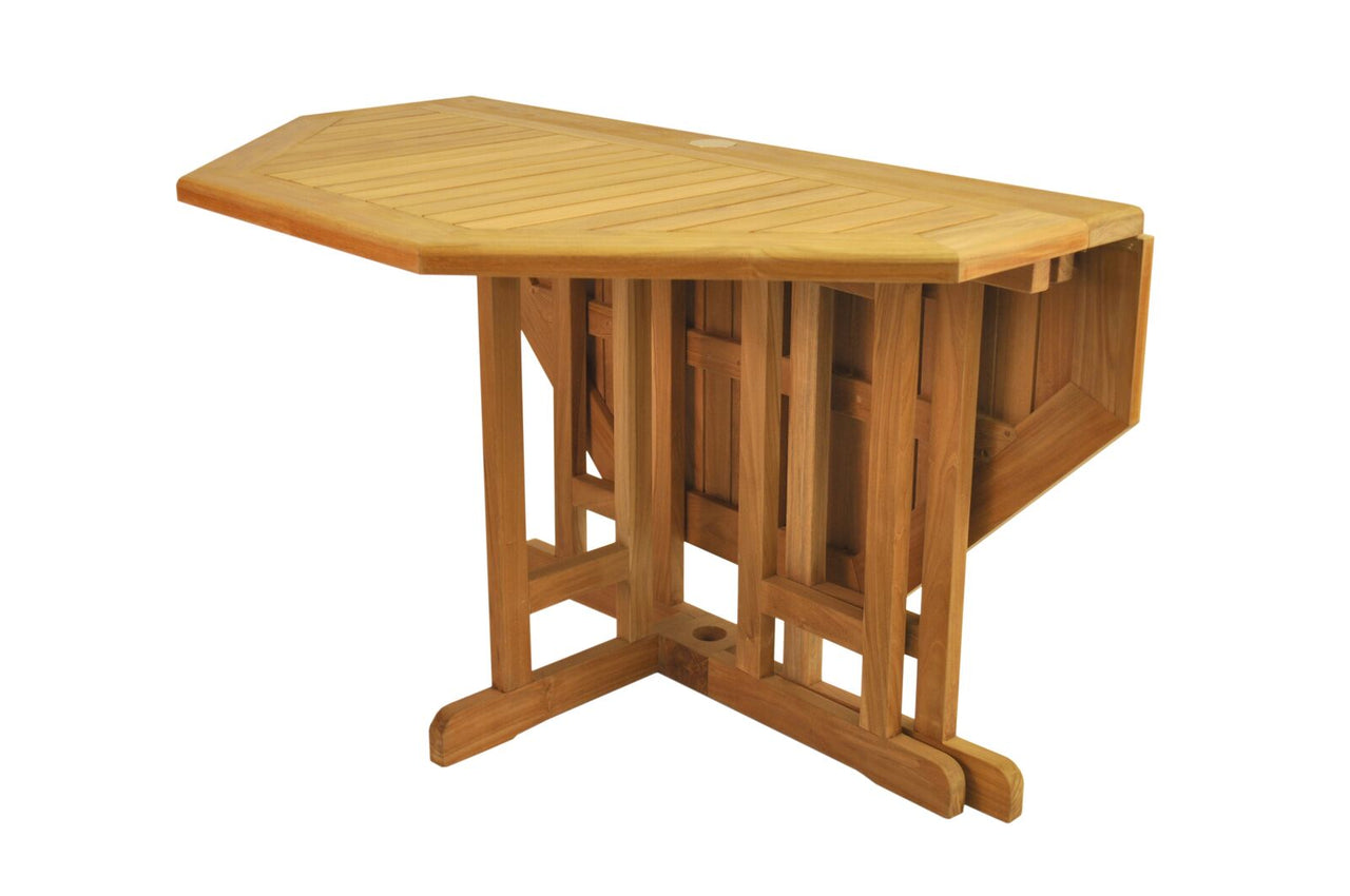 "Butterfly 47"" Octagonal Folding Table"