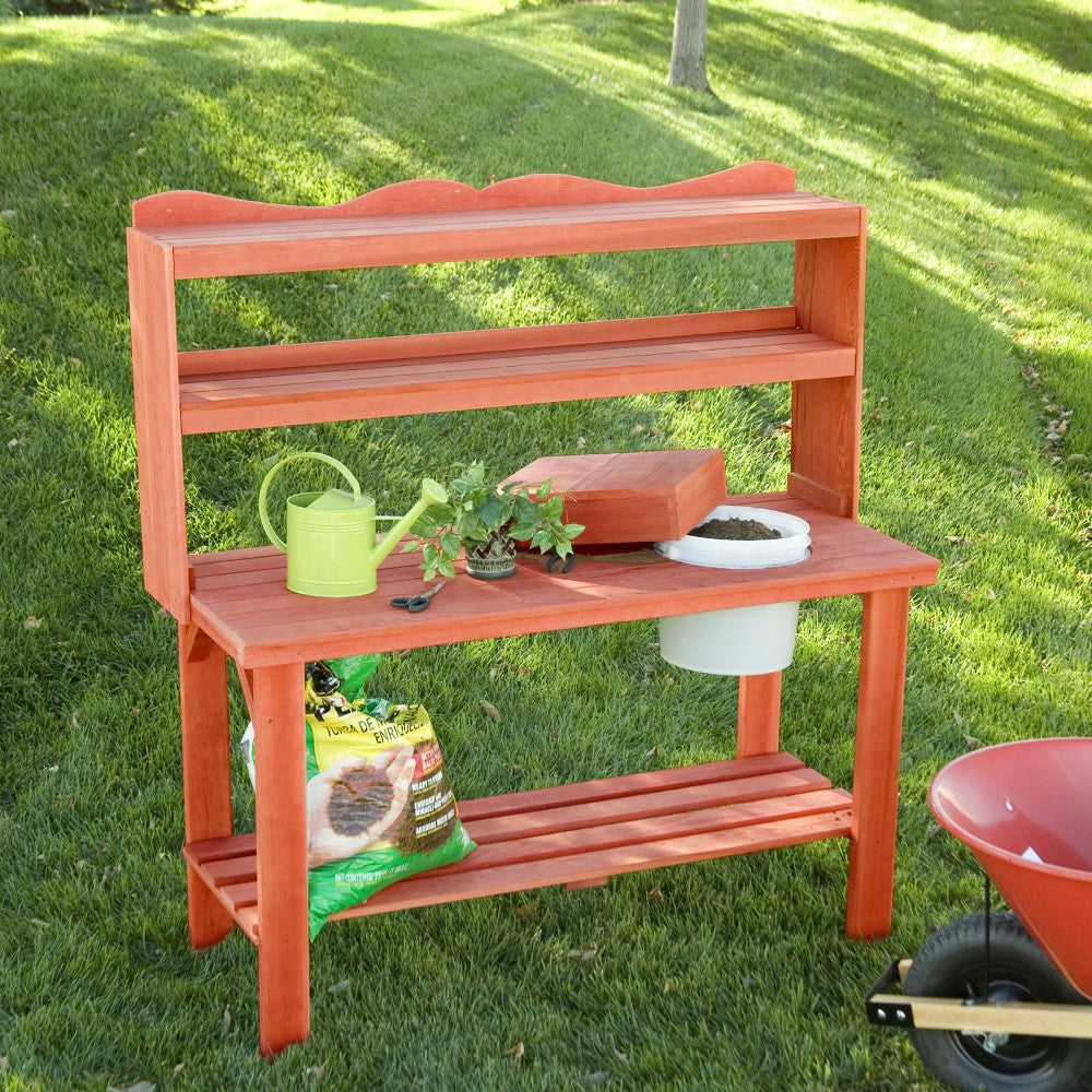 Master Gardner's Potting Bench