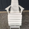 New Hope Pine Adirondack Chair & Stool