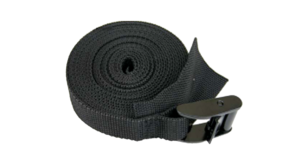 15' Tie Down Straps Black COD Paddlesports