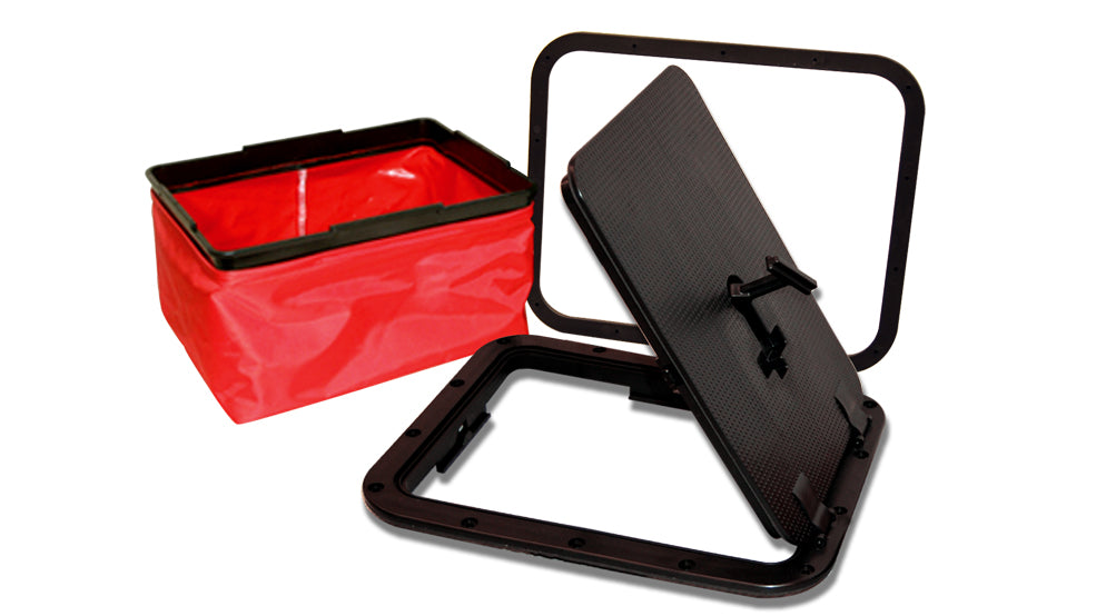Small Rectangular Hatch with Removable Bag