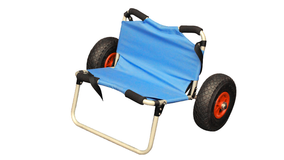 Aluminum Kayak Wheel Cart with Seat