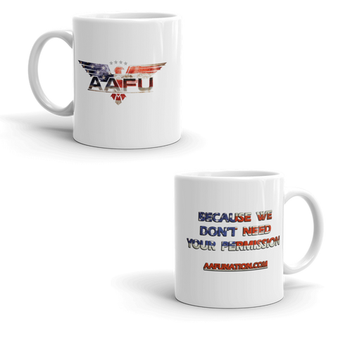 Official AAFU Coffee Cup