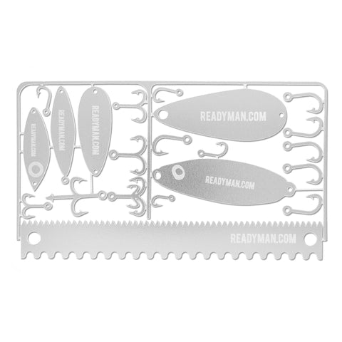 ReadyMan Fisherman's Survival Card