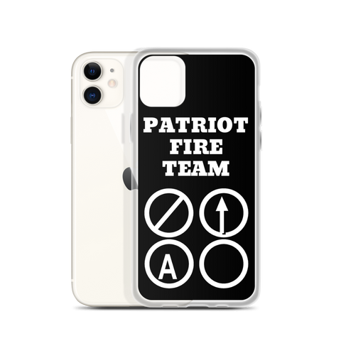 Patriot Fire Team iPhone Case