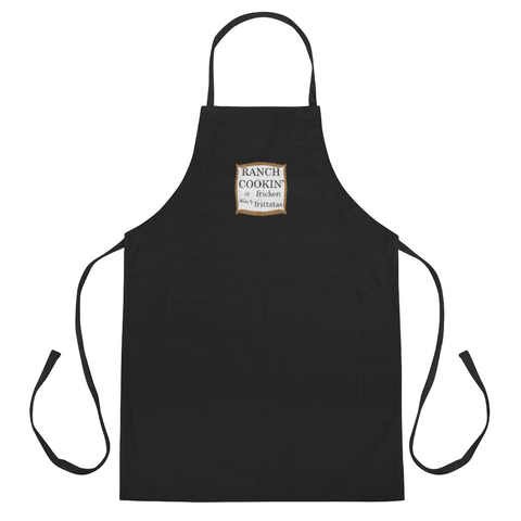 Ranch Cookin' Embroidered Apron