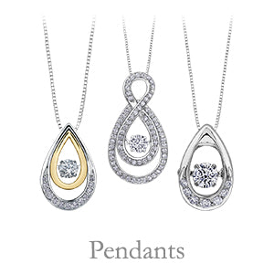 Dana's Goldsmithing collection of pendants