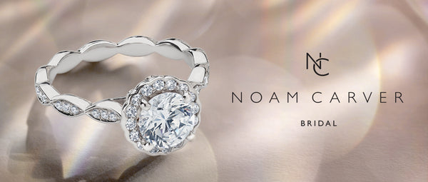 Noam Carver engagement rings - Canadian designer gold, rose gold, yellow gold diamond rings