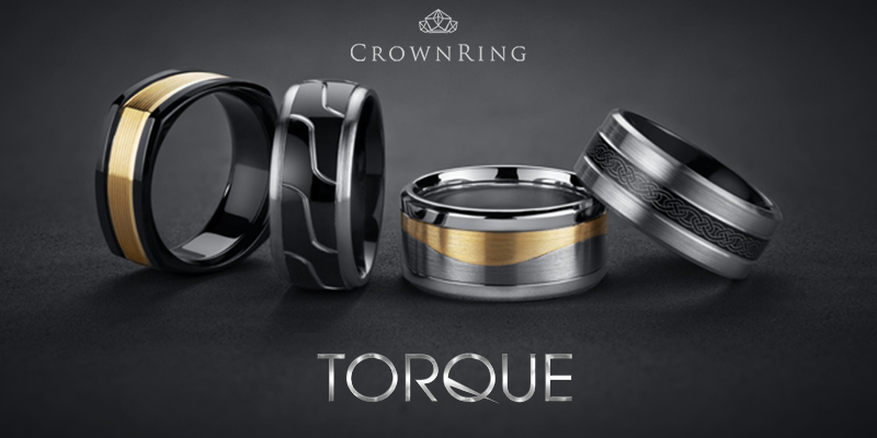 Crown Ring Torque line of mens fashion rings