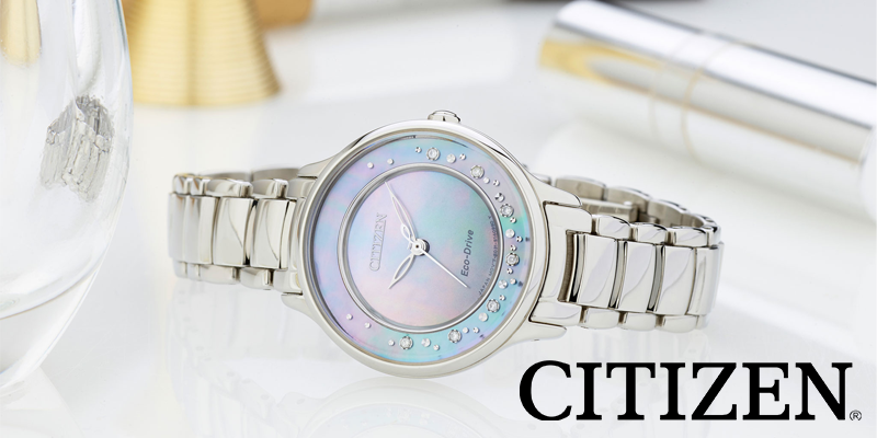 Citizen watches for men and women - Eco Drive and quartz