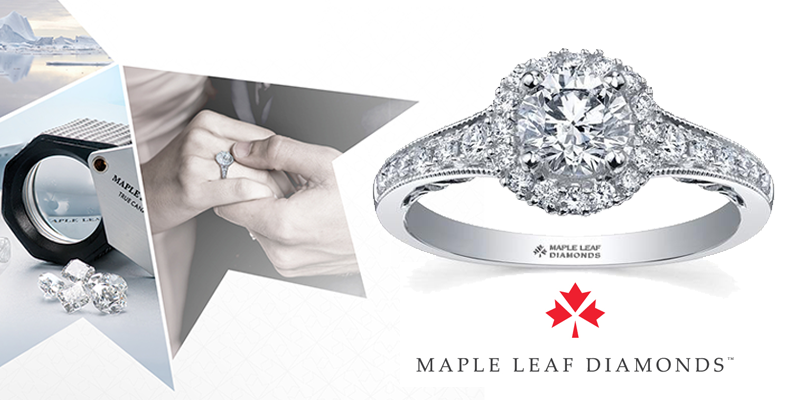 Maple Leaf Diamonds - Canadian diamonds and gold engagement rings and wedding bands