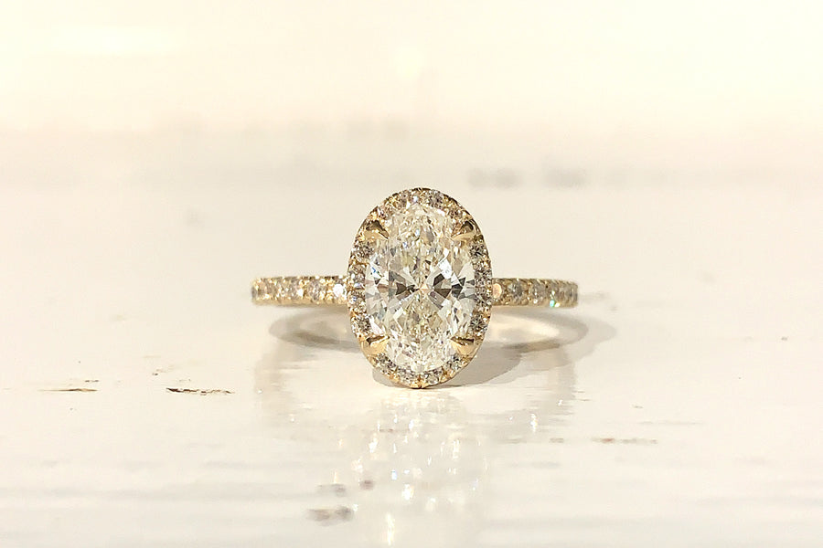 Personalized Engagement Ring