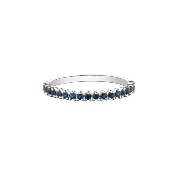 Genuine Sapphire Stackable Band
