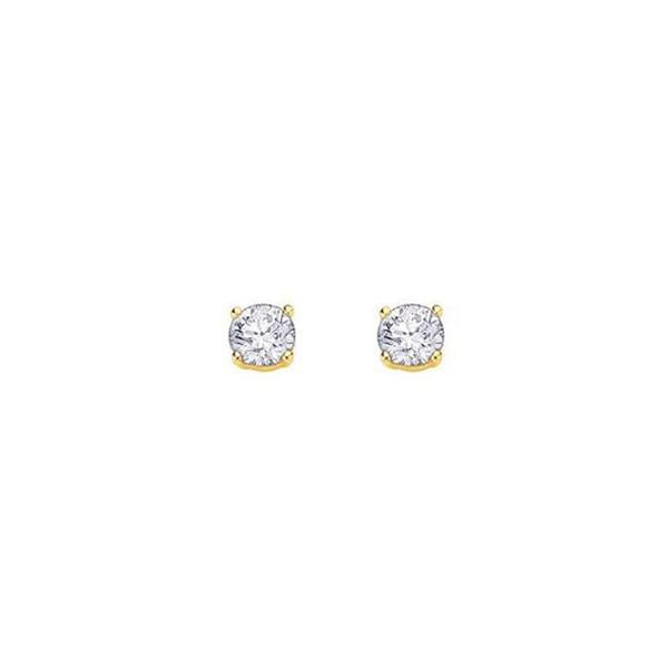 Canadian Diamond Stud Earrings -.70ct (34708)