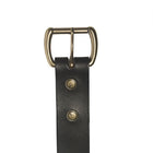 The Ludlow Belt in Black ,Belts- Volume&Tone Guitar Straps & Leather Goods