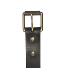 The Bedford Belt in Black ,Belts- Volume&Tone Guitar Straps & Leather Goods