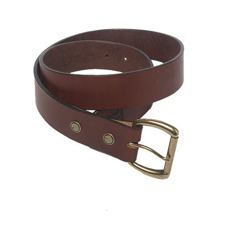 The Ludlow Belt in Oxblood ,Belts- Volume&Tone Guitar Straps & Leather Goods