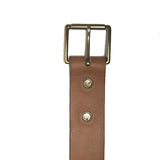The Classic Belt in Tan - Volume & Tone - Guitar Straps & Leather Goods