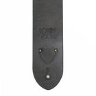 The V&T Standard Guitar Strap - Slate Gray Leather