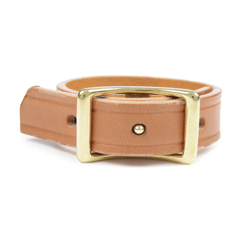 Thick Collar Stud Bracelet - Volume&Tone Guitar Straps & Leather Goods
