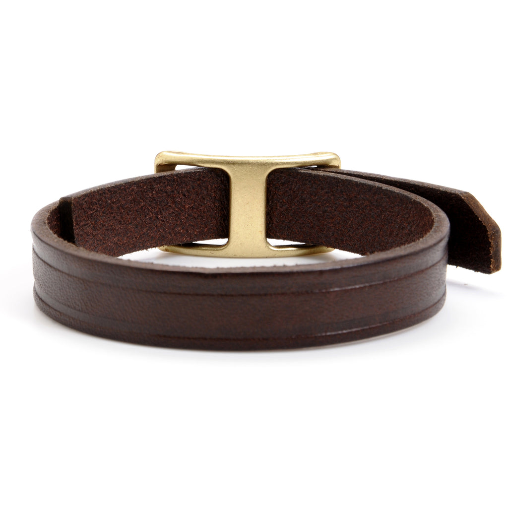 Thin Collar Stud Bracelet - Volume&Tone Guitar Straps & Leather Goods