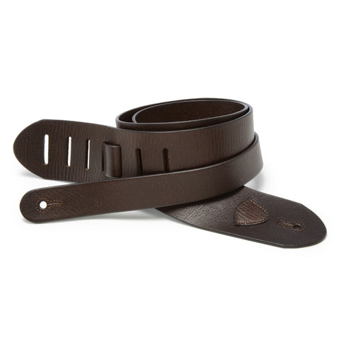 The Standard - Chocolate Brown - Volume & Tone - Guitar Straps & Leather Goods