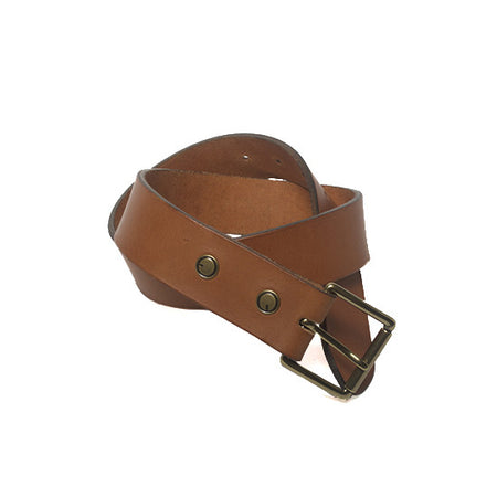 The Classic Belt in Tan ,Belts- Volume&Tone Guitar Straps & Leather Goods