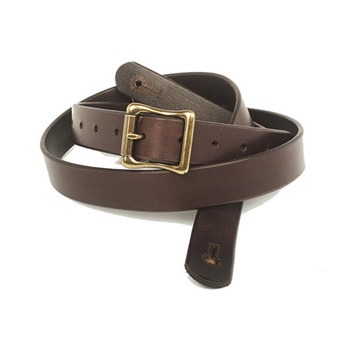 "The Guthrie  1"" Wide Guitar Strap - Dark Brown Bridle Leather - Volume & Tone - Guitar Straps & Leather Goods"